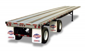 Flatbed (Trailer Only) by Utility Trailer Manufacturing