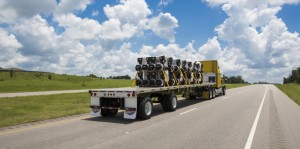 Flatbed (With Load) by Utility Trailer Manufacturing